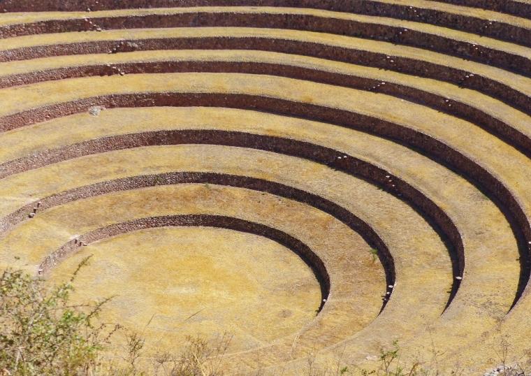 Pérou Les terrasses de Moray