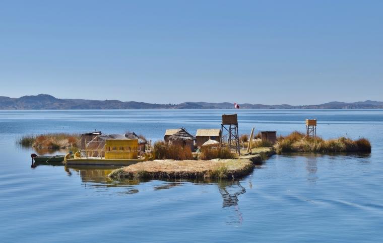 Pérou titicaca île Uros