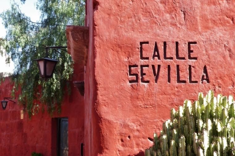 Santa Catalina pérou couvent