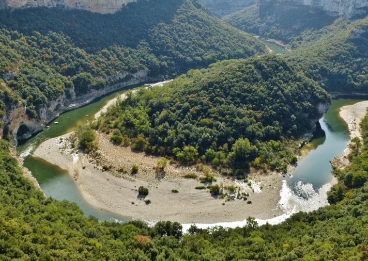 Belvédère des templiers Ardèche