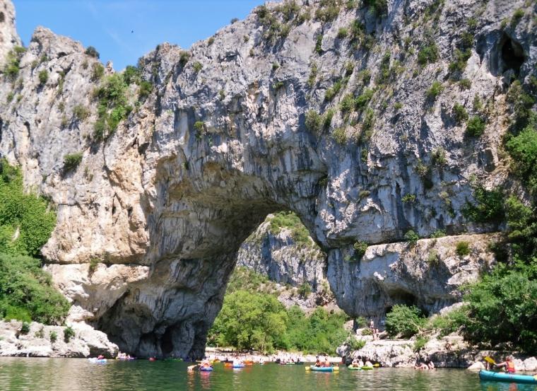 Vallon Pont d'Arc Ardèche