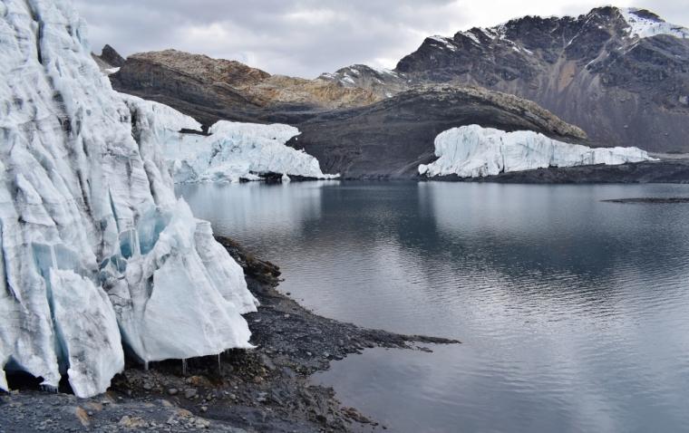 glacier pérou trekking