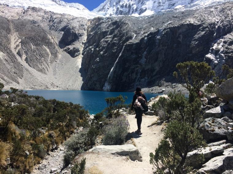 Laguna 69 perou trekking