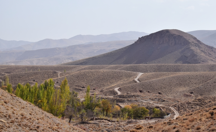 paysage iran abyaneh