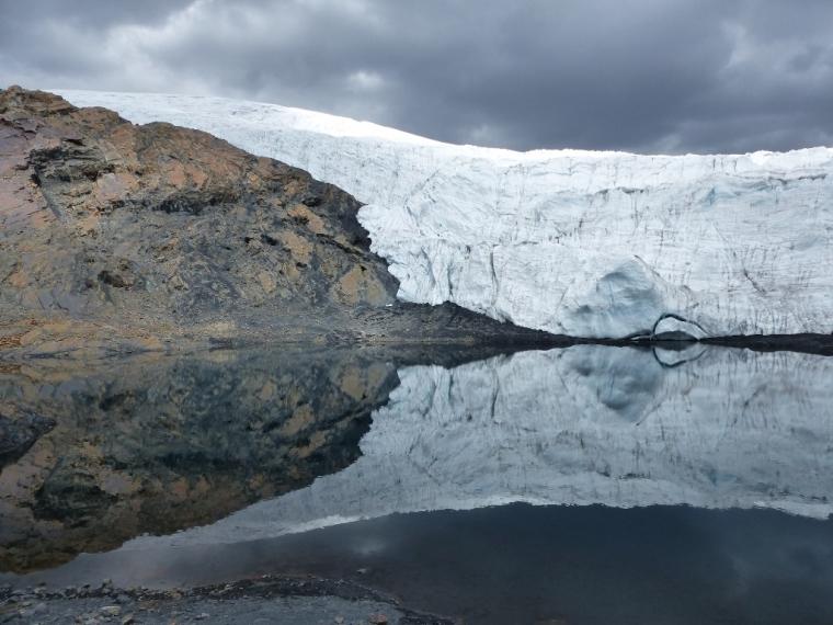 Pérou Glacier Pastoruri