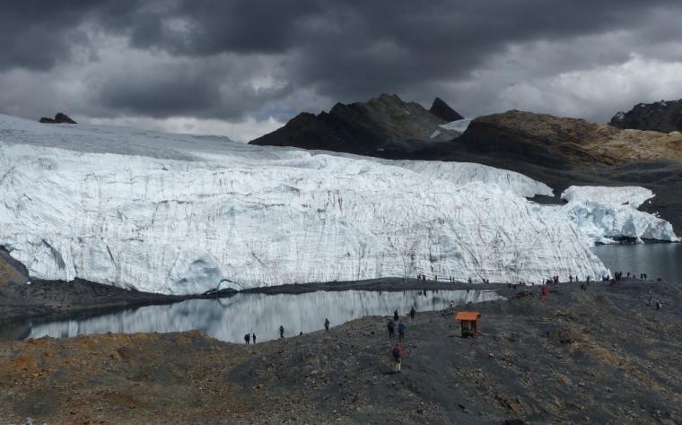 Pérou trekking glacier pastoruri