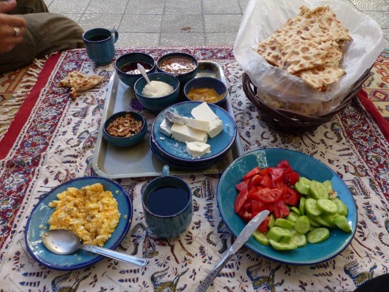 Petit déjeuner Iranien