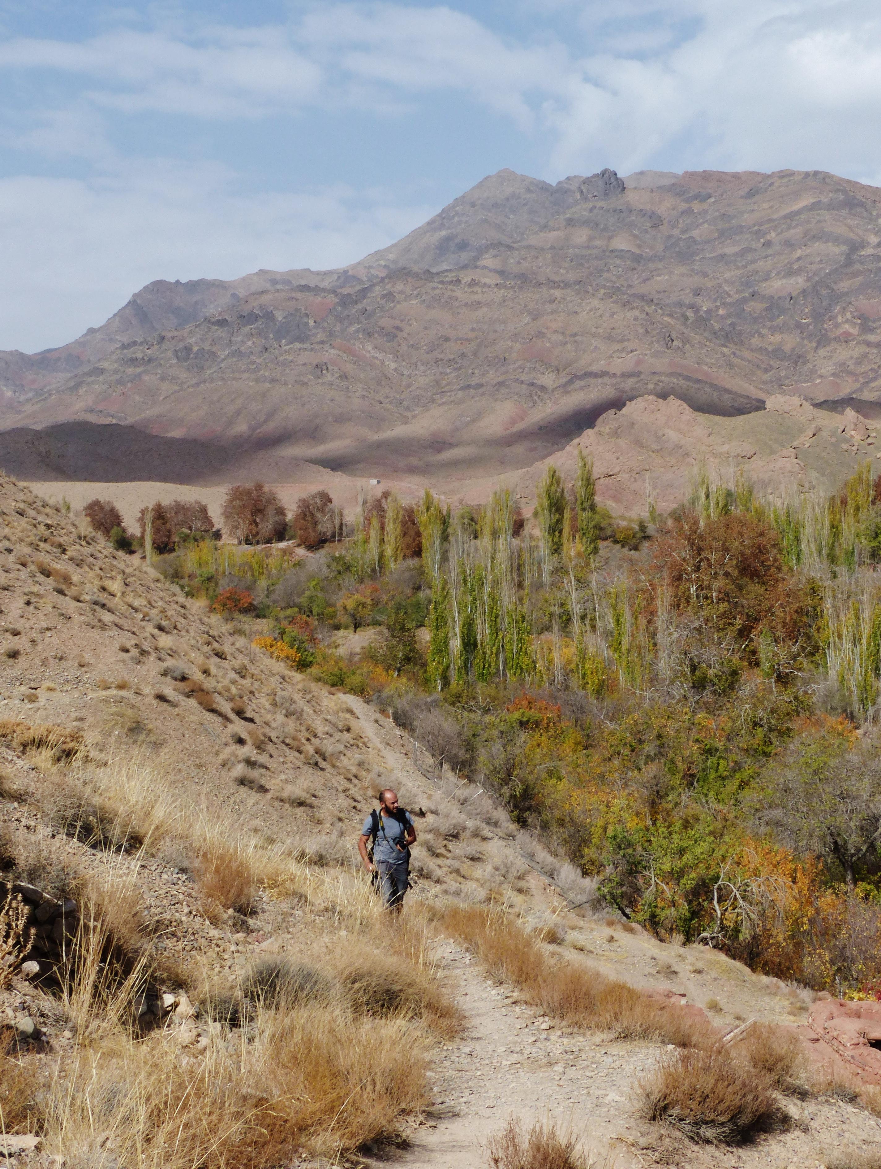 Abyaneh rando village Iran