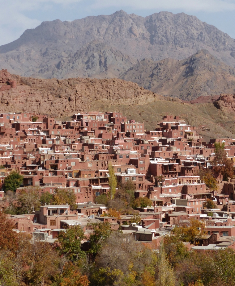 Abyaneh Village point de vue