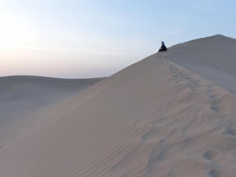Désert Iran dunes