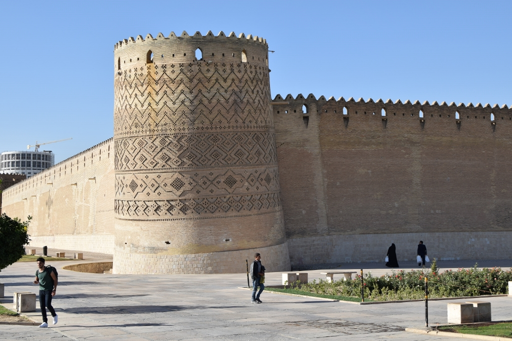 Iran Shiraz forteresse