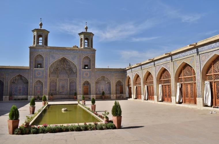 Iran Shiraz Mosquée rose 2