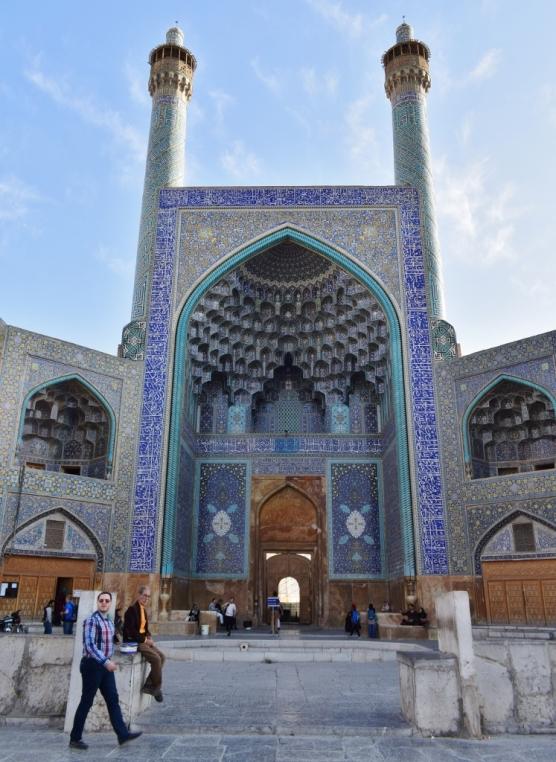 mosquée Ispahan Imam