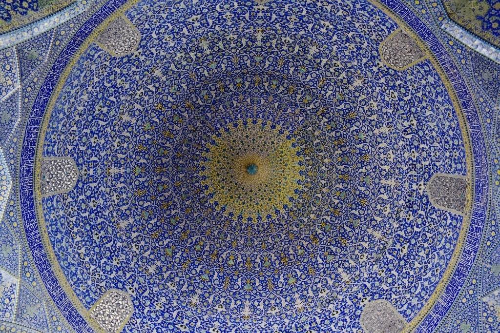 Coupole de la mosquée de l'Immam à Ispahan