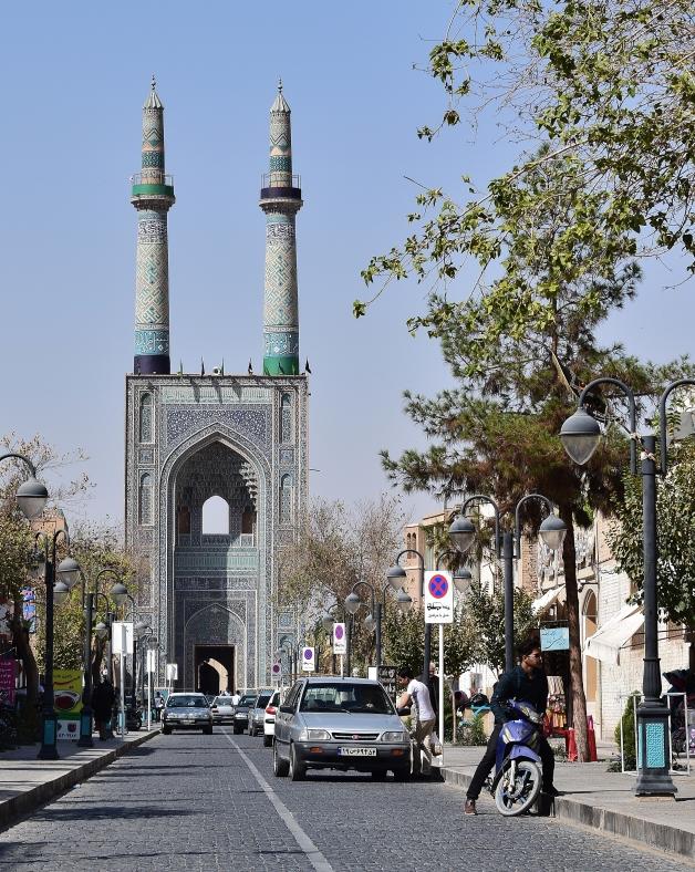Yazd centre ville Iran