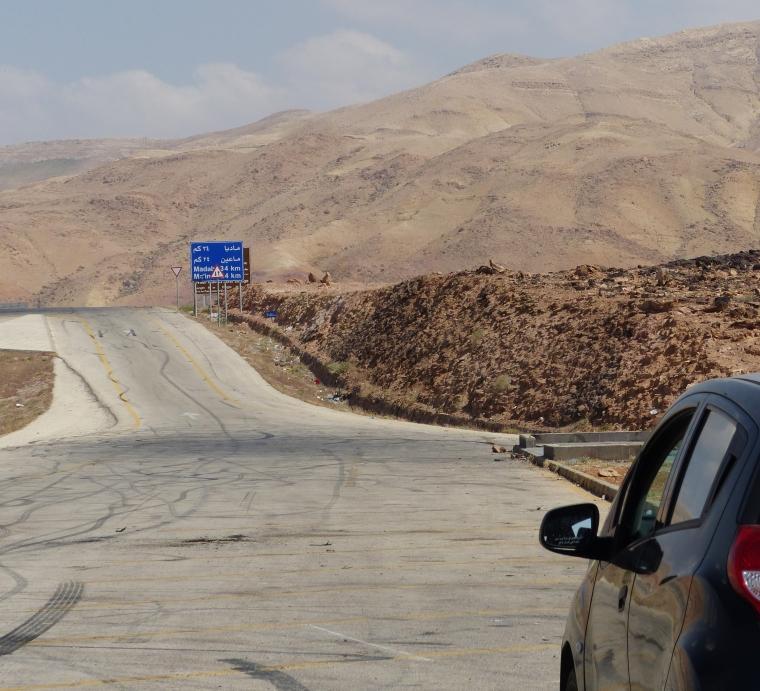 La route du Roi en Jordanie