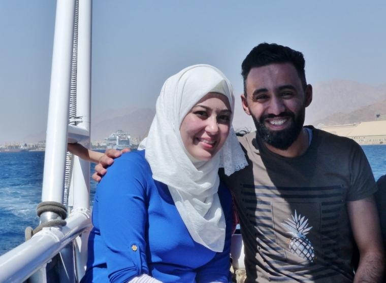 Un couple jordanien