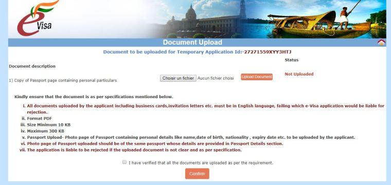 visa inde en ligne passeport a telecharger