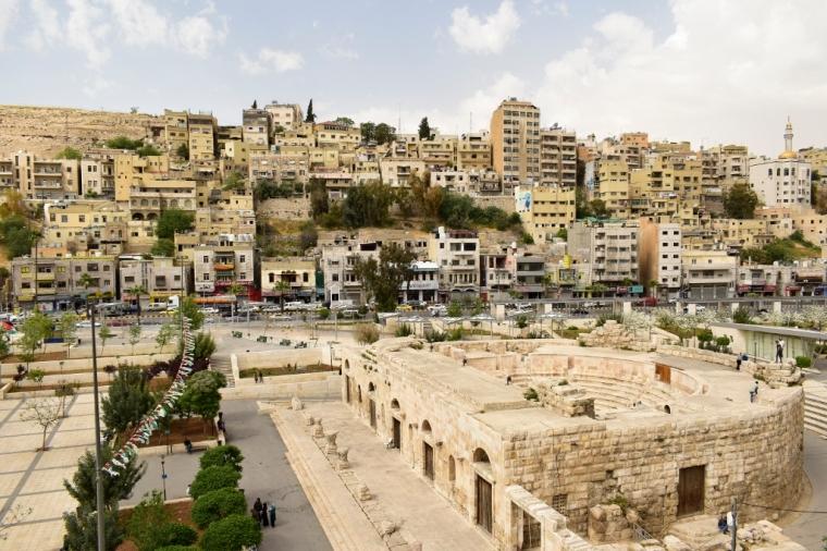 amman jordanie théâtre antique