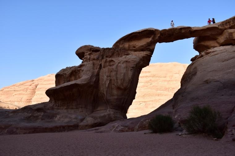 Arche Wadi Rum désert jordanie