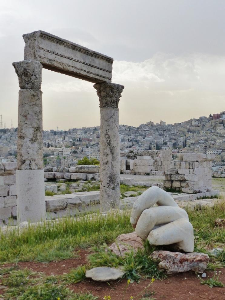 Citadelle Amman Jordanie