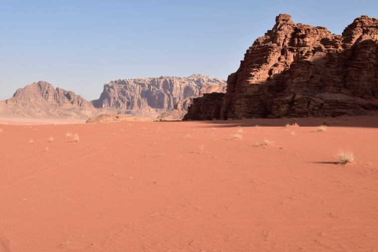 Désert jordanie Wadi Rum