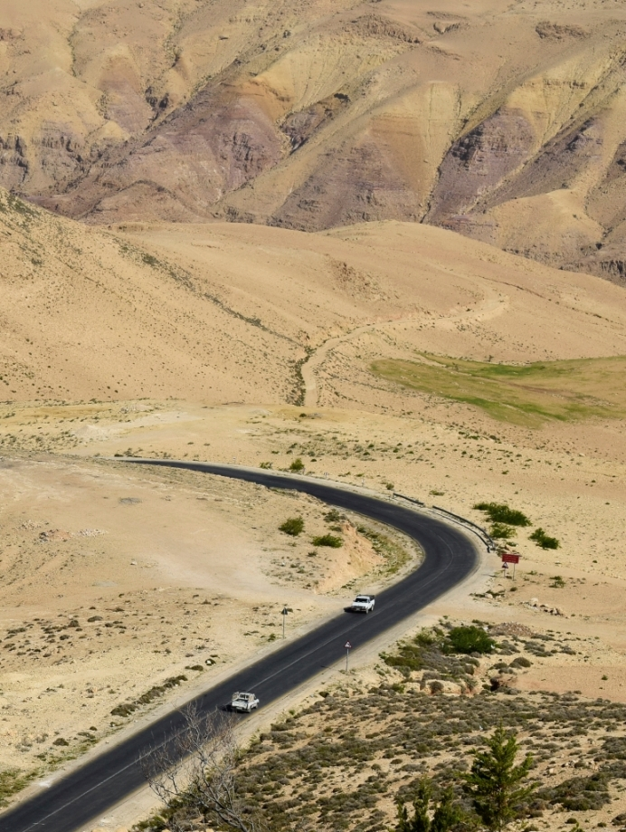route du roi en jordanie