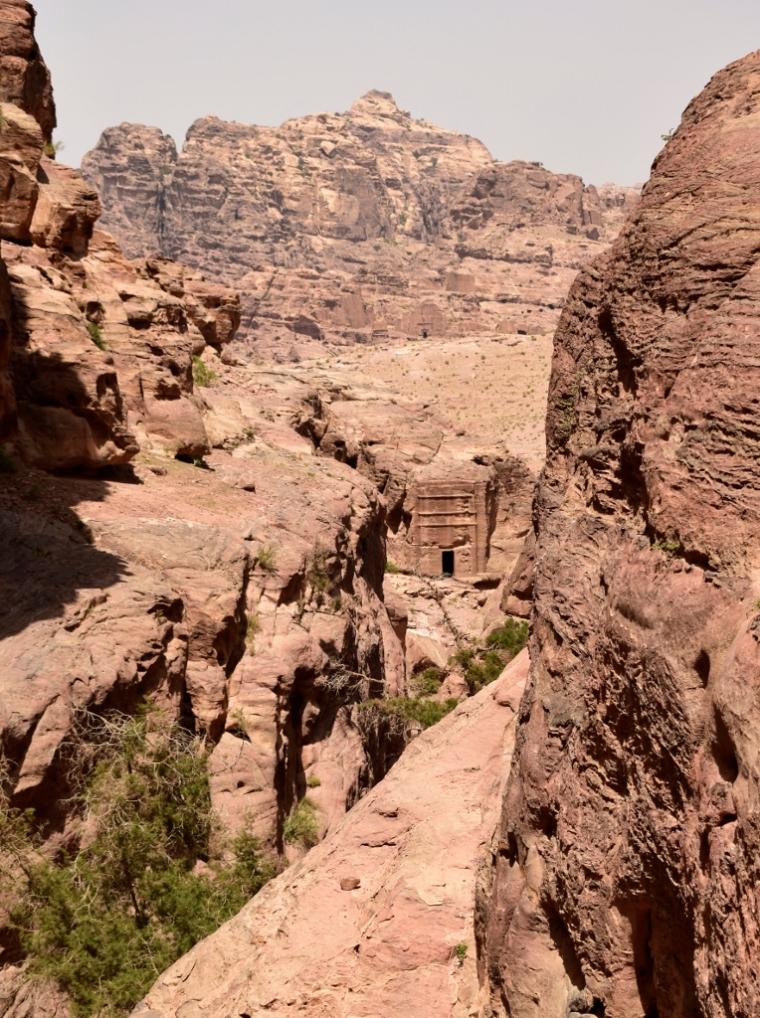 Temple Pétra Jordanie