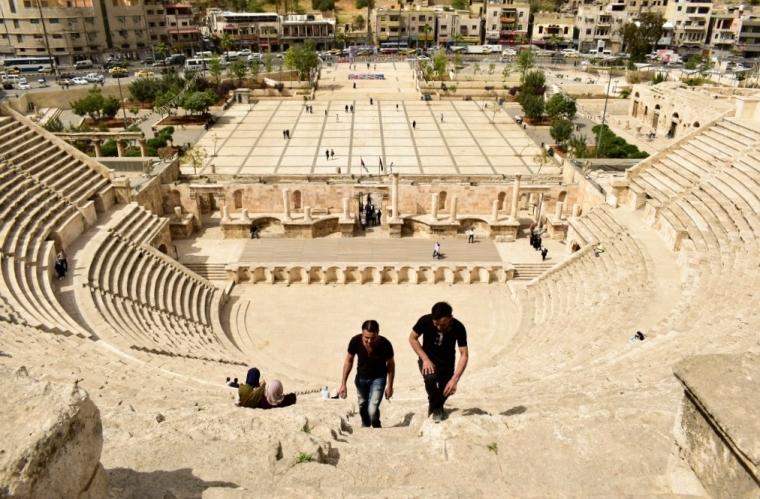 théâtre antique amman jordanie