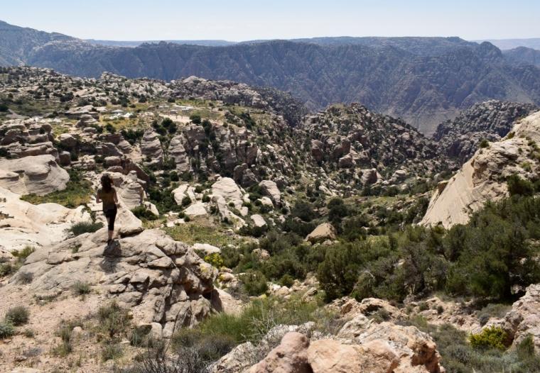 vallée de dana jordanie