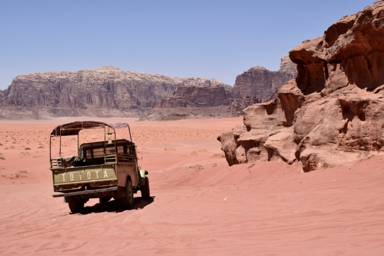 Wadi Rum désert jordanie