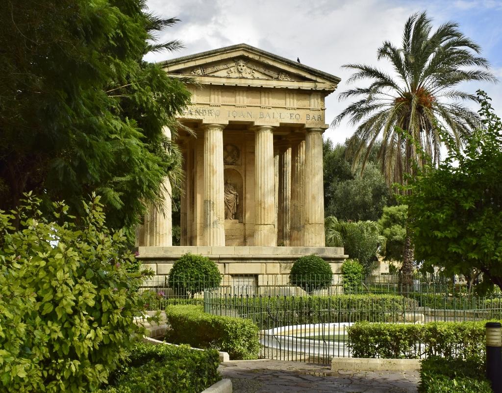 jardins upper barrakka la valette