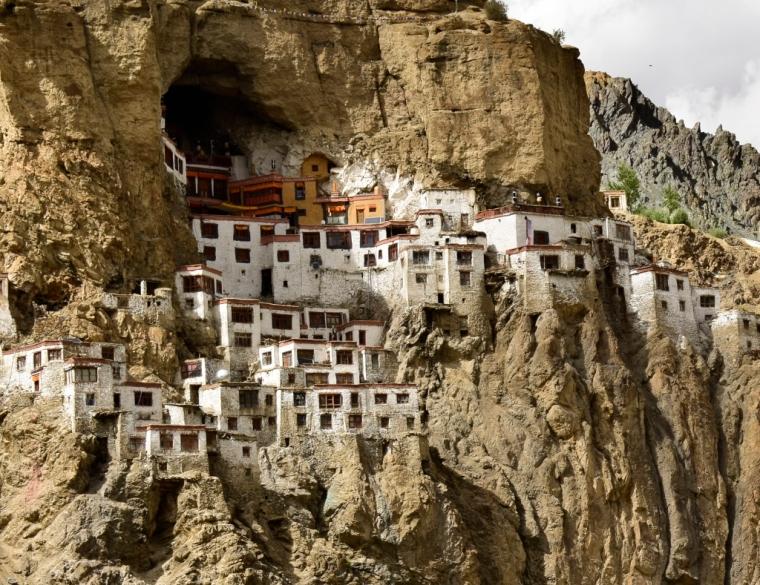 monastère de phuktal zanskar