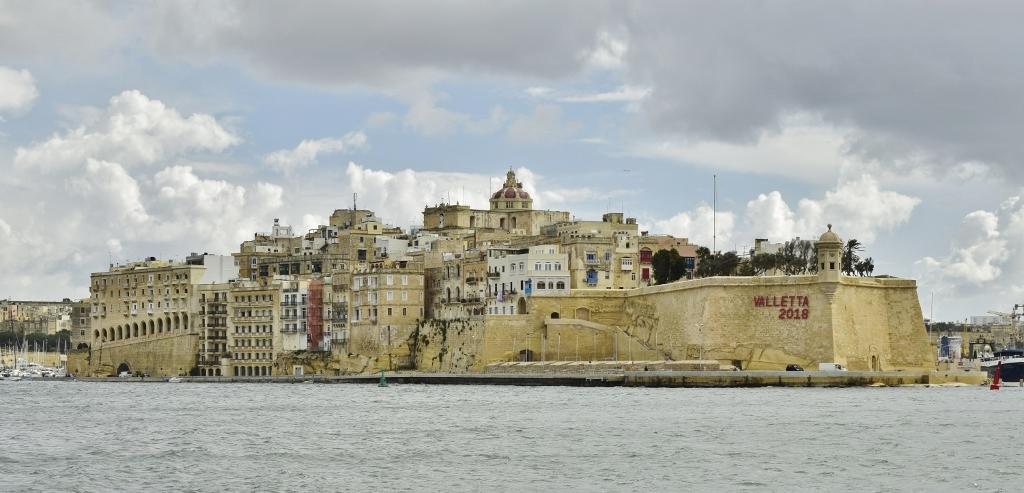 vue sur les trois cités malte