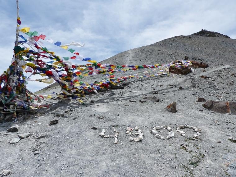 sommet du Ganda La Ladakh