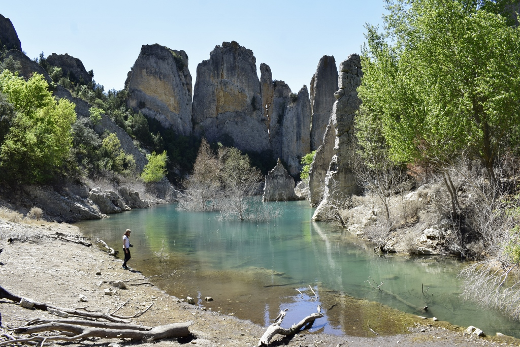 Embalse de Canelles Aragon Espagne