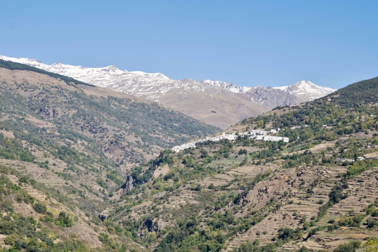 Paysage Alpujarras Espagne