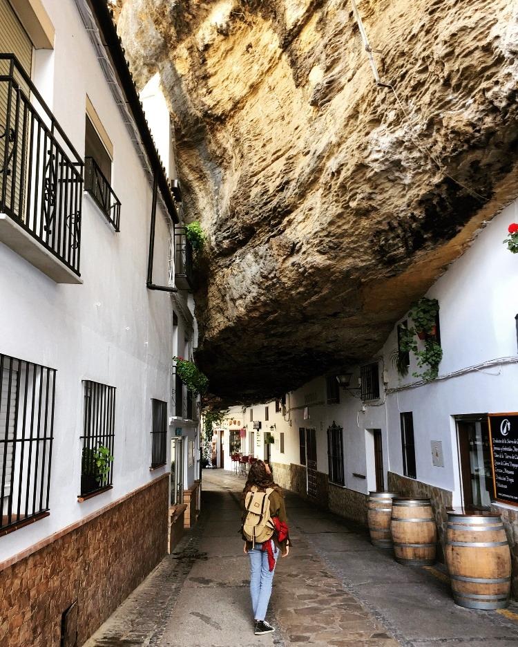 setenil de las bodegas espagne andalousie