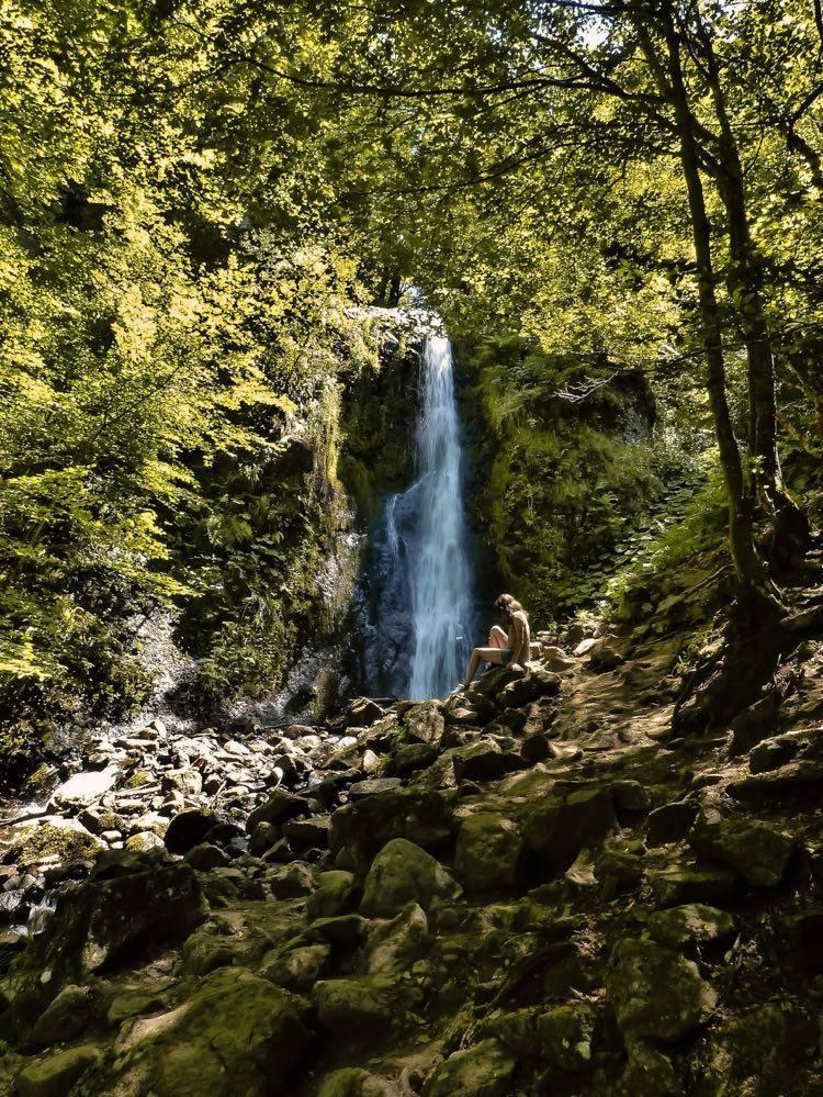 Petite cascade dans la Vallée de Chaudefour