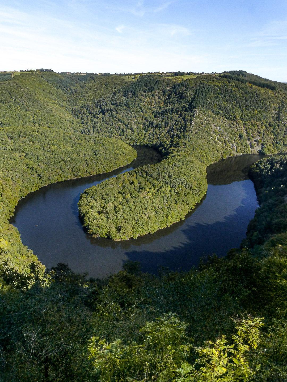 Méandre de Queuille Auvergne