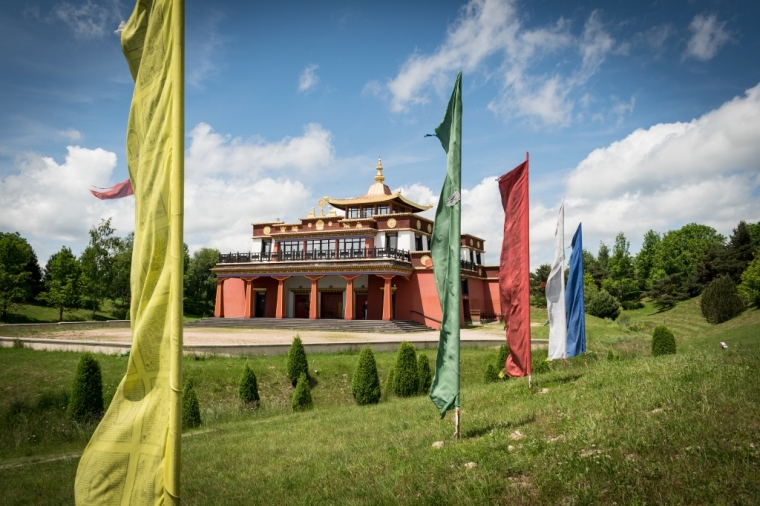 Temple bouddhiste auvergne