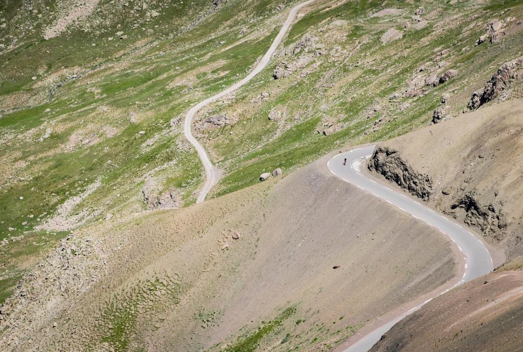 Le col de la Bonette, Alpes-de-Haute-Provence