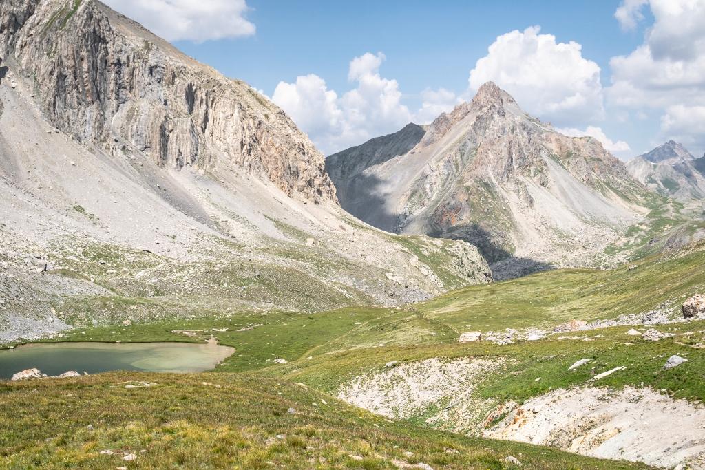 Randonnée au lac de Roburent