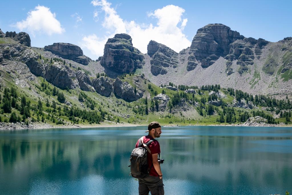 Randonnée jusqu'au lac d'Allos