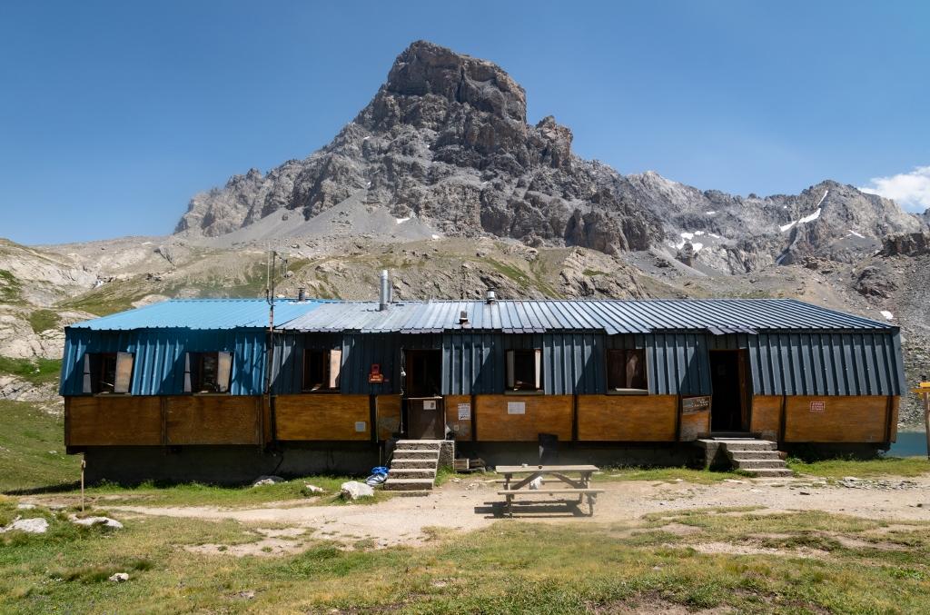 Le refuge de Chambeyron, Ubaye