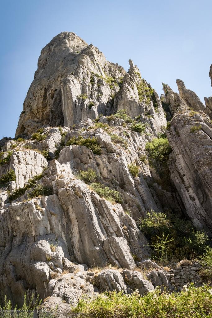 Rocher de la Baume à Sisteron