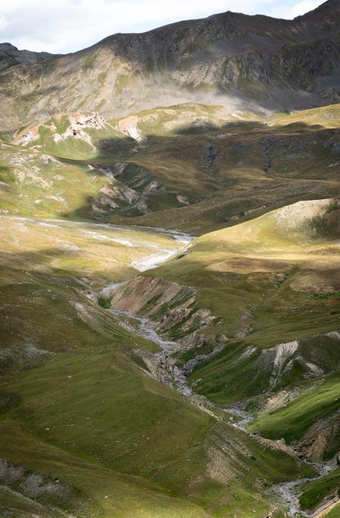 Panorama sur le vallon de Salso Moreno