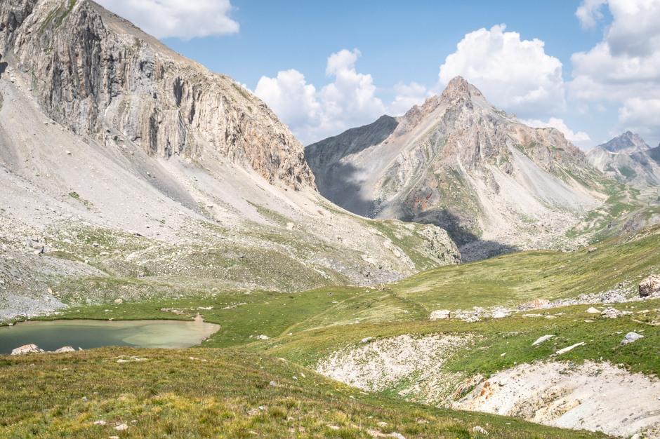 Randonnée jusqu'au lac de l'Oronaye